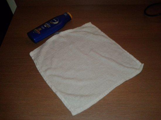 Тегернхайм, Германия: dimensione dell'unico asciugamani per due persone