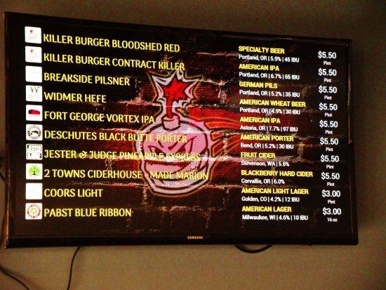 Gresham, OR: Beer list