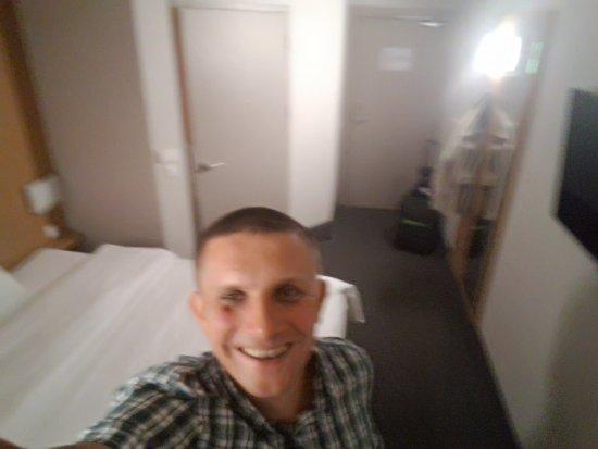 B&B Hotel Warszawa-Okecie: W pokoju...