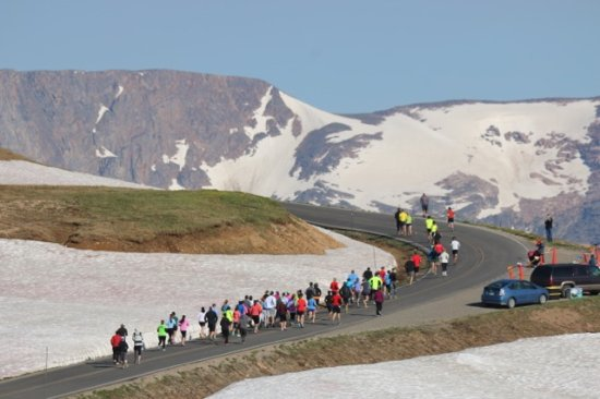 Red Lodge, MT: Beartooth Run 10K at 10K