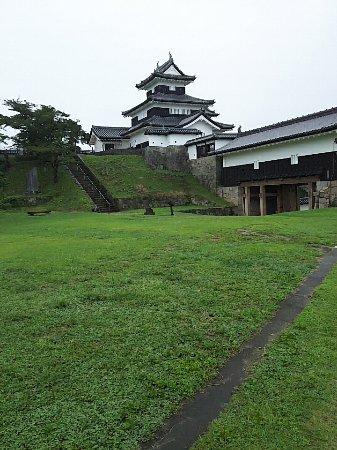 Komine Castle Remains : 全景