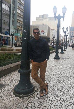 The Flowers Street: Rua das Flores, Curitiba PR.