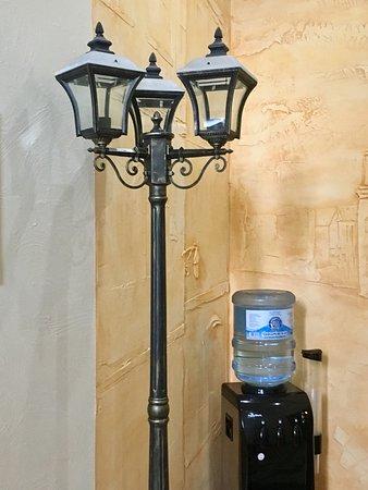 Gubernski Hotel: Наличие питьевой воды рядом с номером