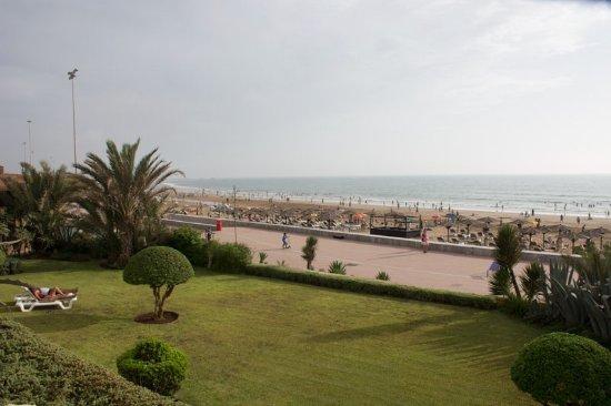 Hotel Riu Tikida Beach: view from room 194