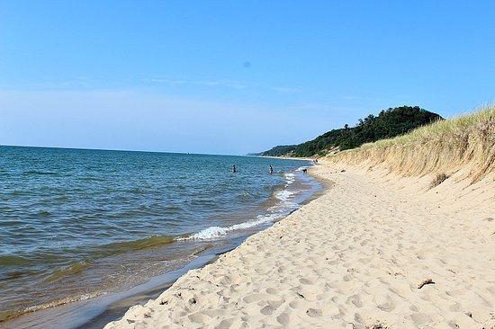 Saugatuck, MI: Secluded beach