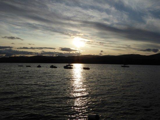 Loch Insh Watersports: Sunset over Loch Insh