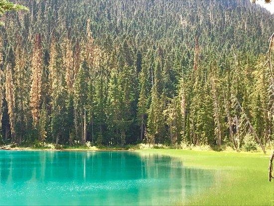 Pemberton, Canada: First lake
