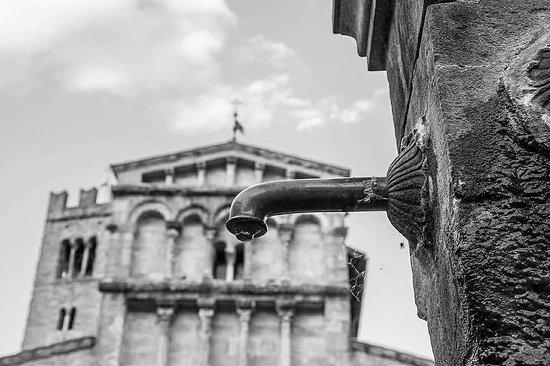 Villa Basilica, إيطاليا: Una bellissima Pieve Romanica risalente al XII secolo. All'interno troviamo fra le opere, uncro