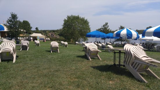 Makanda, IL: Grounds for viewing eclipse on the vineyard property