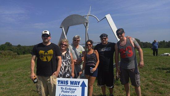 """Makanda, IL: Our """"Eclipse Crew""""!"""