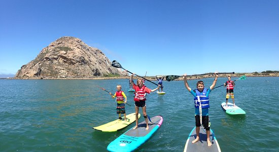 ‪Morro Bay Stand Up Paddleboarding‬