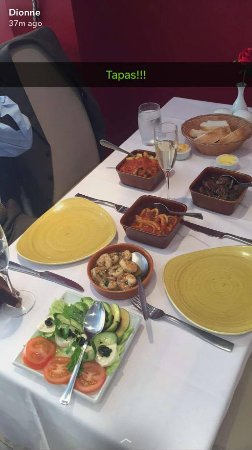 Crowthorne, UK: Another great lunch at my favourite local tapas restaurant !