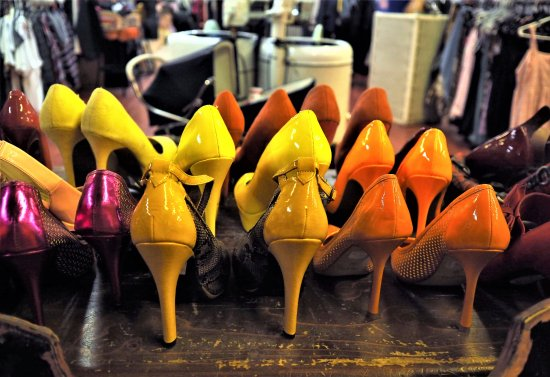 Montreal, Canada: chaussures
