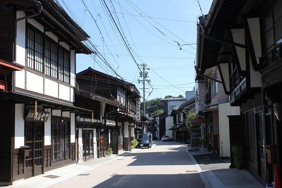 木曽平沢の街並み