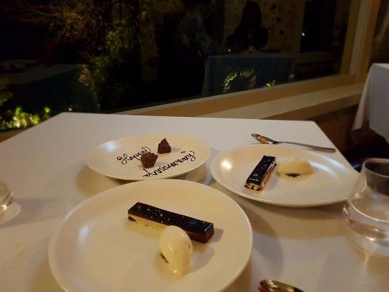 Adelaide Hills, Australia: Dessert time