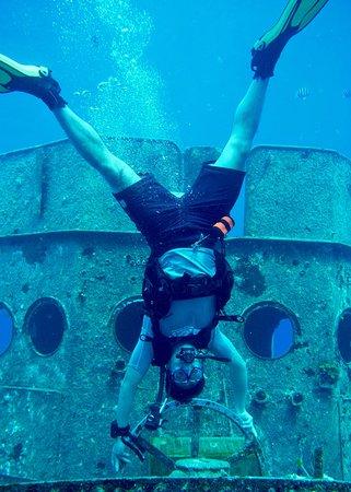 Living The Dream Divers Seven Mile Beach Cayman Islands Top