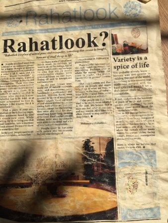 Rahatlook: l'originale menù