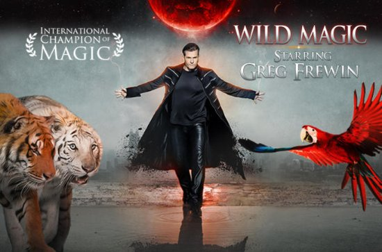 Greg Frewin Wild Magic Show