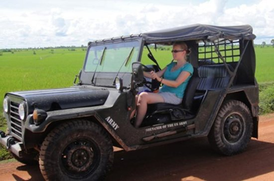 Countryside Jeep Tour from Siem Reap