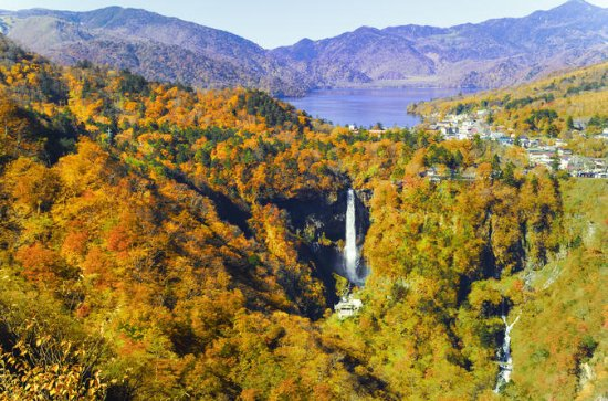 2 Day Trip to Explore Autumn Colored Waterfalls and Lake Chuzenji in...