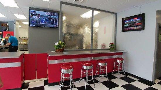 Ανατολική Aurora, Νέα Υόρκη: interior bar seating