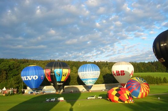 Private VIP Zurich Sunrise Hot Air Balloon Flight