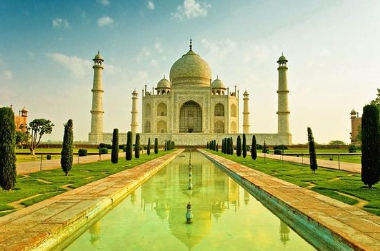 Private Taj Mahal Agra Day Trip by...