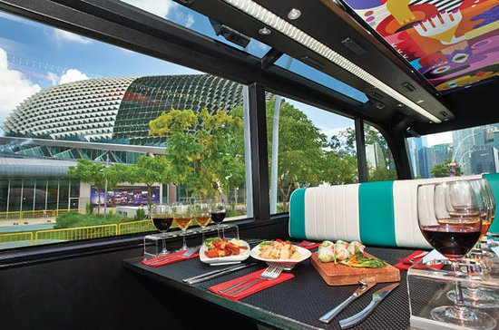 Singapore GOURMETbus Lunch Tour with...