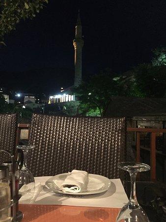cena sul terrazzo dell\'albergo - Picture of Hotel-Restaurant Kriva ...