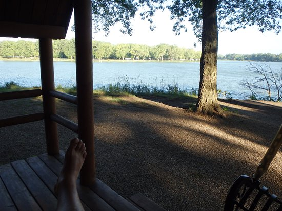 Onawa, IA: View from our cabin.