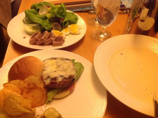 Cavallo Point: Room service food