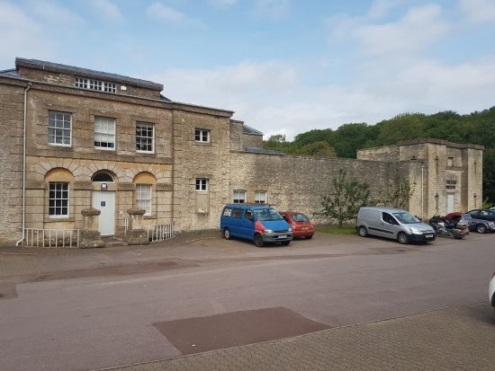 Northleach Old Prison from the car park
