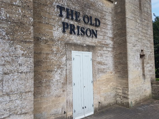 Northleach, UK: The old main entrance, not in use any longer