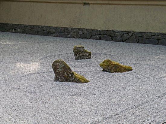 Gravel pond picture of portland japanese garden for Garden pond gravel