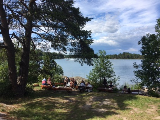 Oxelosund, Sweden: View from the line