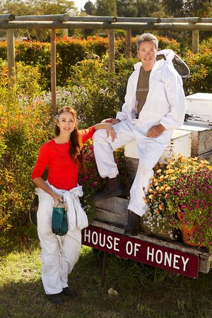 Kim and Rupert Phillips (owners and beekeepers)