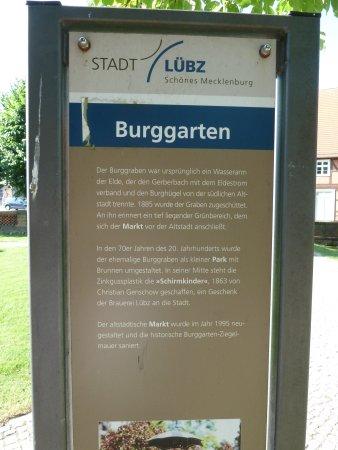 Luebz, Alemania: Erläuterung Burggraben