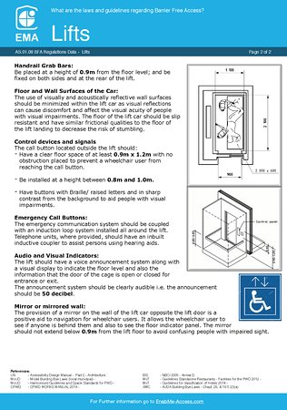 Radisson Blu Hotel Ahmedabad: Accessible Lifts for Disabled. Page 2