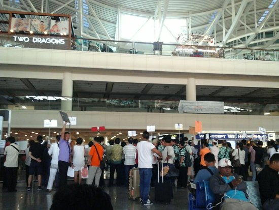 Bali International Airport At International Arrival Lounge Picture