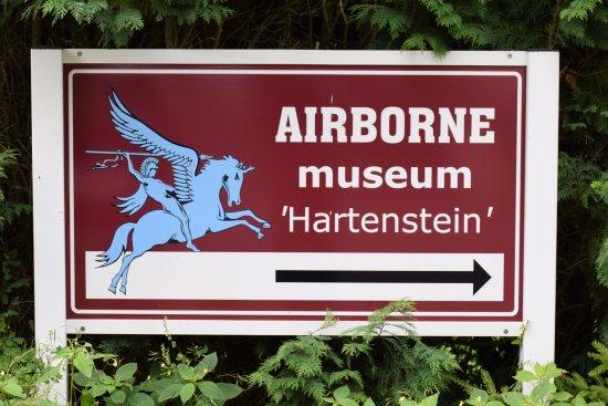 Airborne Museum Hartenstein: Daar is de ingang.