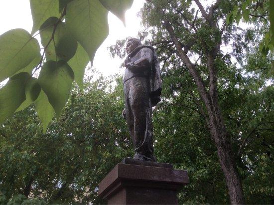 Памятник Л.И.Брежневу