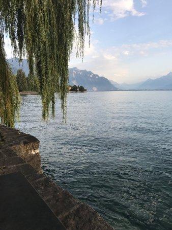 La Tour-de-Peilz, Szwajcaria: Plage De La Maladaire