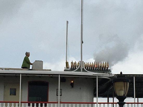 Steamboat Natchez: Concierto previo al embarque