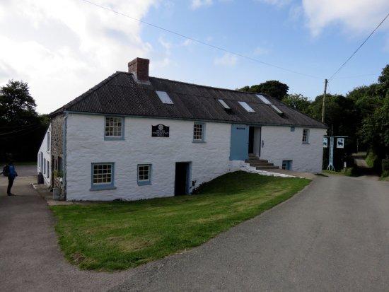 Castlemorris, UK: The old mill building