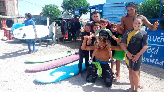 La mejor escuela de surf de Sidi Kaouki !!!