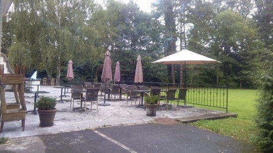 Brakel, Belgia: terrazza