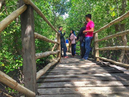 Lebak, Philippinen: boardwalk