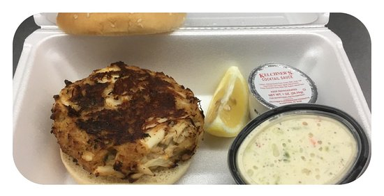Stone Harbor, NJ: Our Awesome CrabCake Sandwich