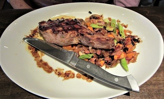 BRIO Tuscan Grille: Tuscan Grilled Pork Chop