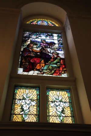 St. George's Cathedral: Another stained-glass window